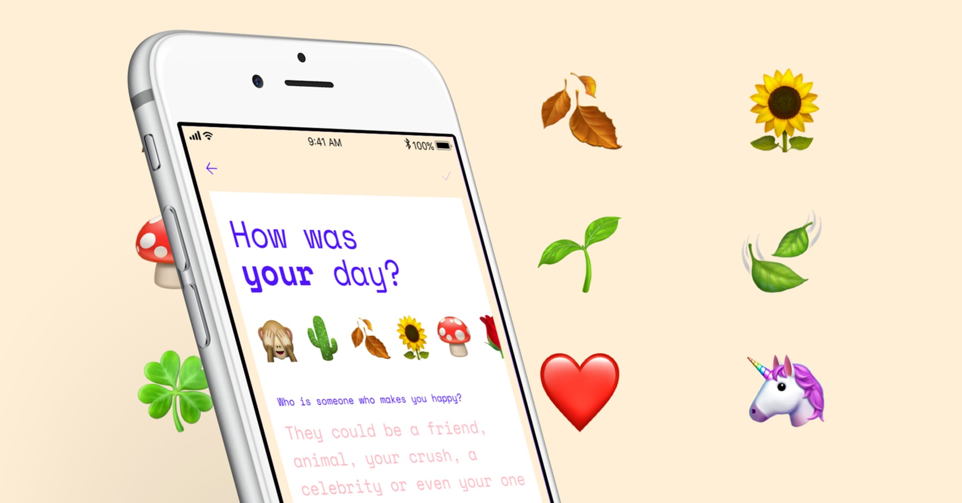 Preview of self-care Aloe App, created by Amber Discko