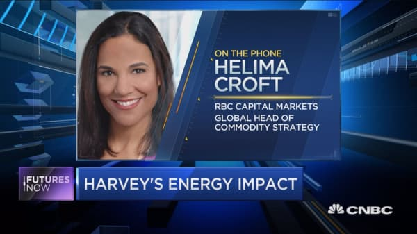 RBC's Helima Croft lays out Harvey's impact on oil & gas