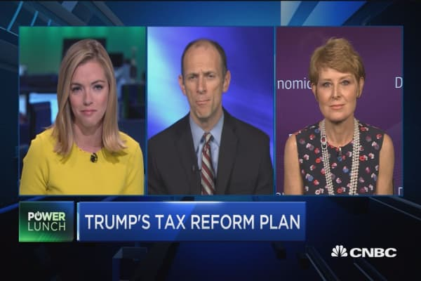 Instead of tax reform go to cuts, says Washington: Diane Swonk