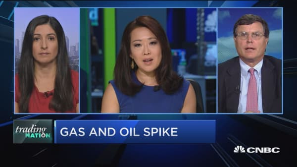 Trading Nation: Gas and oil spike