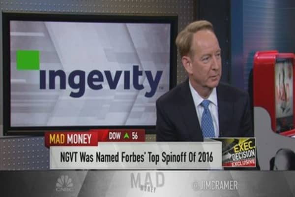 Ingevity CEO: Oilfield business coming back
