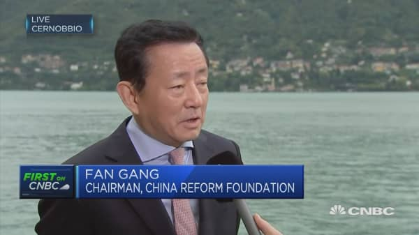 Chinese economic story 'getting better', says economist