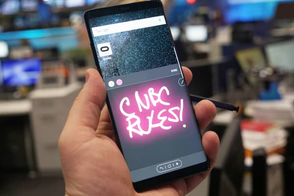 CNBC Tech: Note 8 review 5