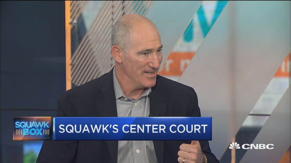 Tennis coach-turned-commentator Brad Gilbert: Here's what 'I love about the market'