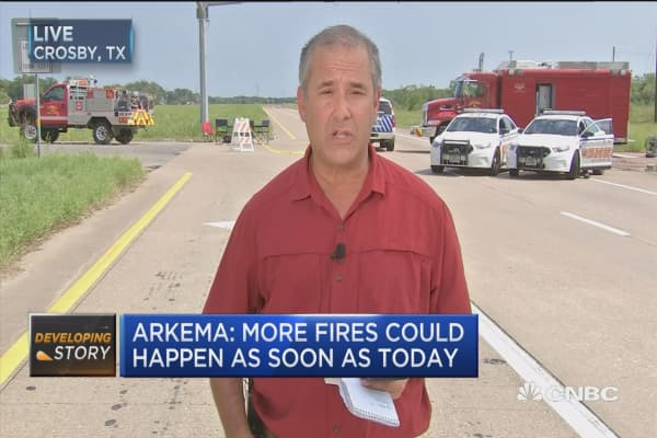 Arkema: No time frame for end of evacuation order
