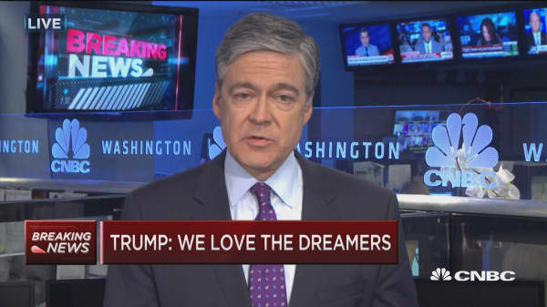 President Trump wants to crack down on DACA: Harwood
