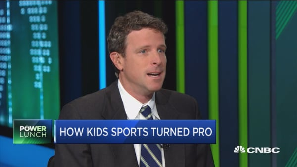 There's a 15 billion industry in how kids sports turned pro