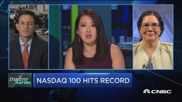 Trading Nation: Nasdaq 100 hits record