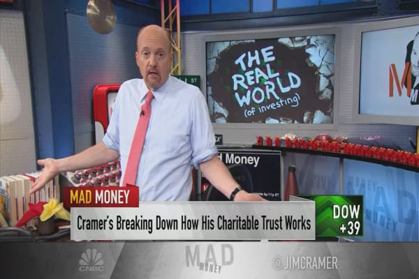 Cramer dishes on who he resents most on Wall Street