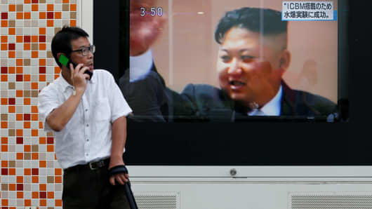 N Korea touts ICBM loaded with H-bomb