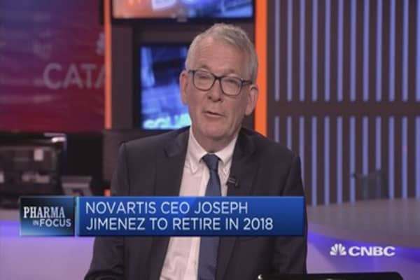 Novartis CEO decision to step down 'very sensible', says analyst