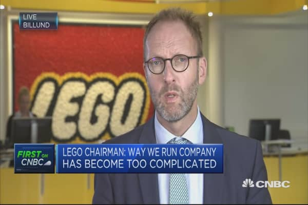 LEGO Chairman: Person to blame for poor outcomes is me