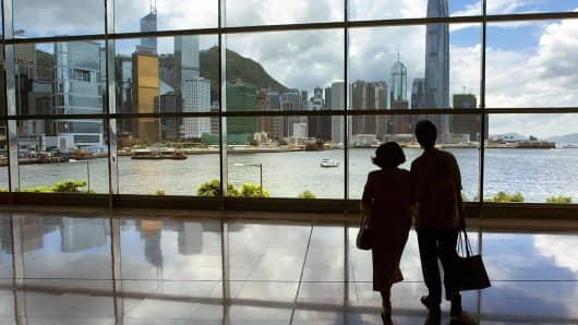 Hong Kong topples New York as world's richest city