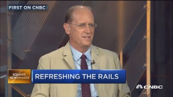 Amtrak CEO: Refreshing our rail systems