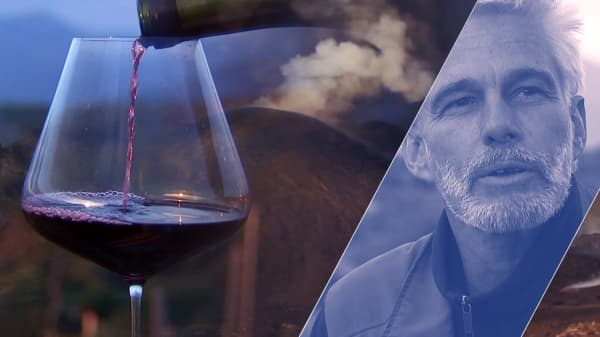 The man who makes wine on a volcano