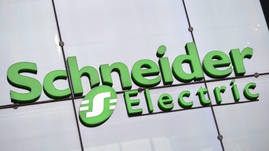 Schneider Electric's first quarter results beat consensus