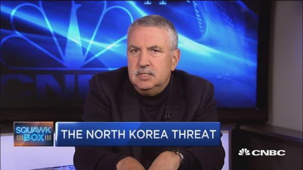 Thomas Friedman: Trump's crazy tweets on North Korea are OK