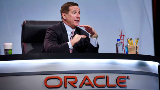 Mark Hurd, CEO, Oracle