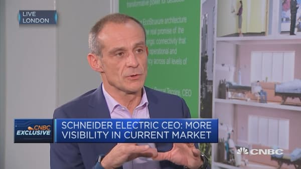 Schneider Electric: We'll try to hire new CEO by deal closing