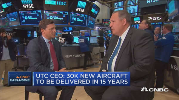 UTC CEO: Not looking at M&A now