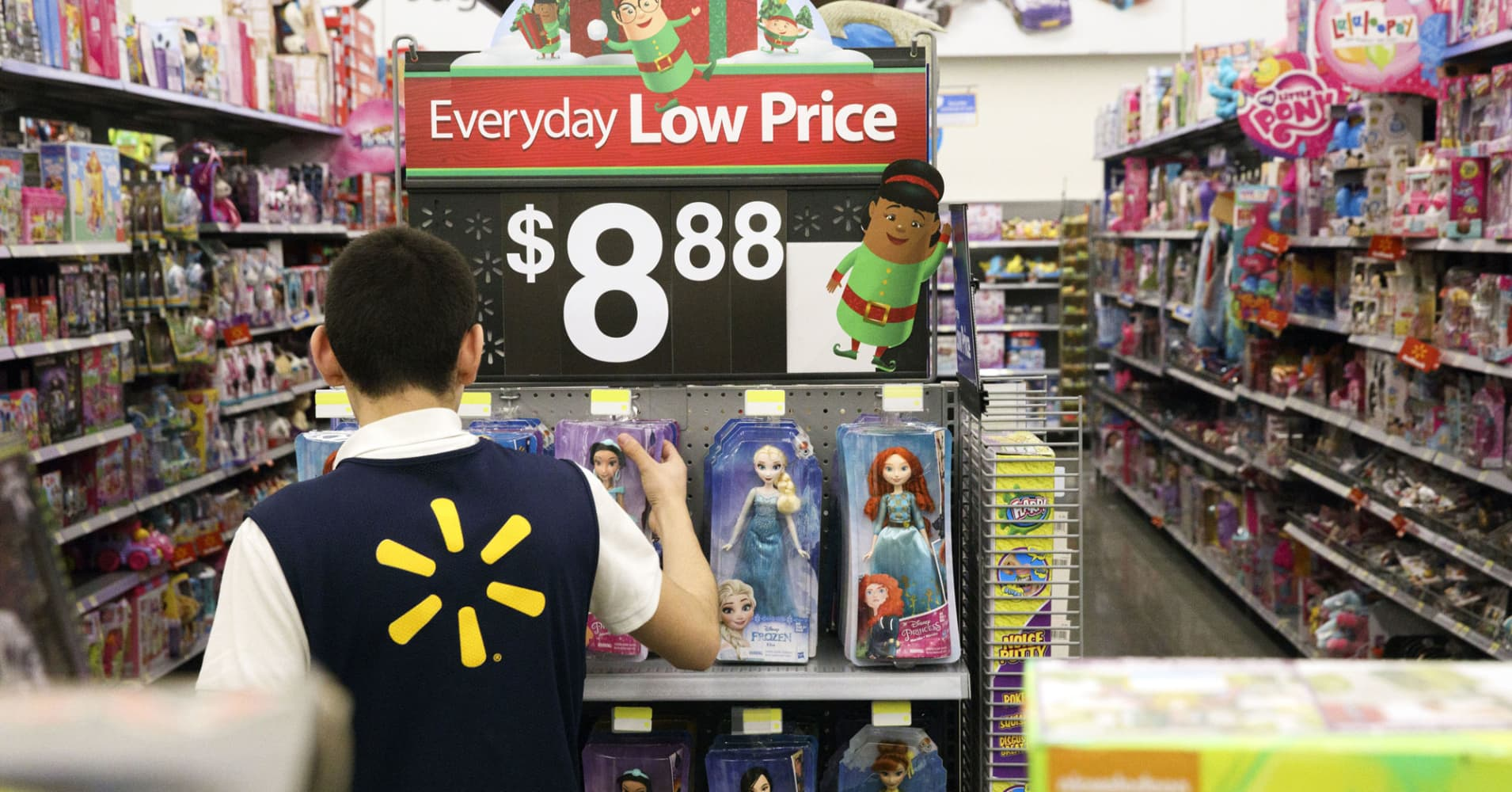 Walmart will have 30% more toys in stores this holiday season