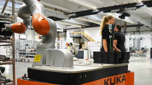 China's Midea recently acquired Germany-based Kuka AG, a global robotics supplier for plant and automotive robots with a research and development center in Austin, Texas.