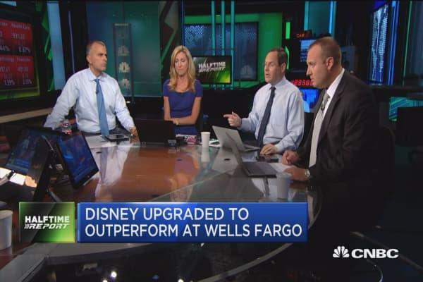 Wells Fargo upgrades Disney to outperform