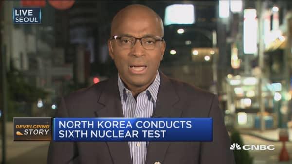 Putin warns of 'global catastrophe' over North Korea