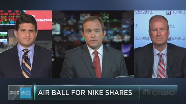 Nike shares slip – buying opportunity?
