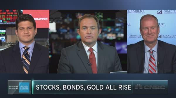 Stocks, bonds, gold all rise in 2017