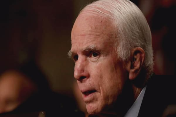 McCain condemns Trump's move to end DACA; other GOP leaders say they'll pass larger reform