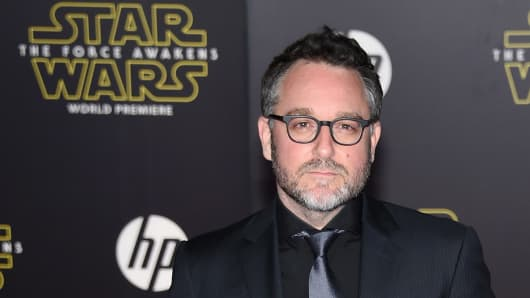 Director Colin Trevorrow attends the premiere of Walt Disney Pictures and Lucasfilm's 'Star Wars: The Force Awakens' at the Dolby Theatre on December 14, 2015 in Hollywood, California.