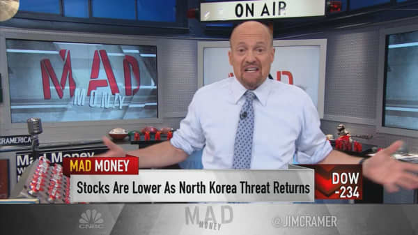 Cramer on what to do when stocks drop for no apparent reason