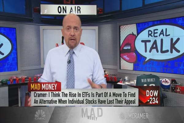 Why Cramer is against ETFs