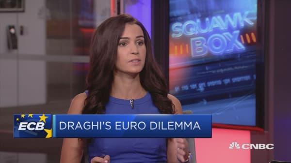 Investors keeping tabs on ECB September meeting
