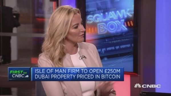 Property development first to be priced in bitcoin: Michelle Mone