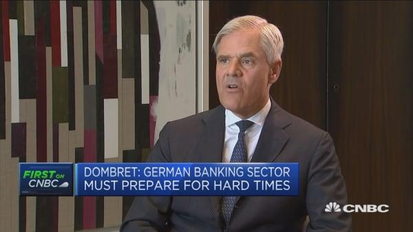 Business model of German banks a serious concern: Bundesbank's Dombret
