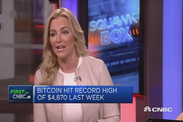 Bitcoin priced development 'not a gimmick', says British entrepreneur Michelle Mone
