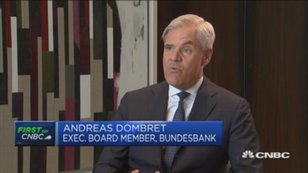 New jobs will be created outside UK after Brexit: Bundesbank's Dombret
