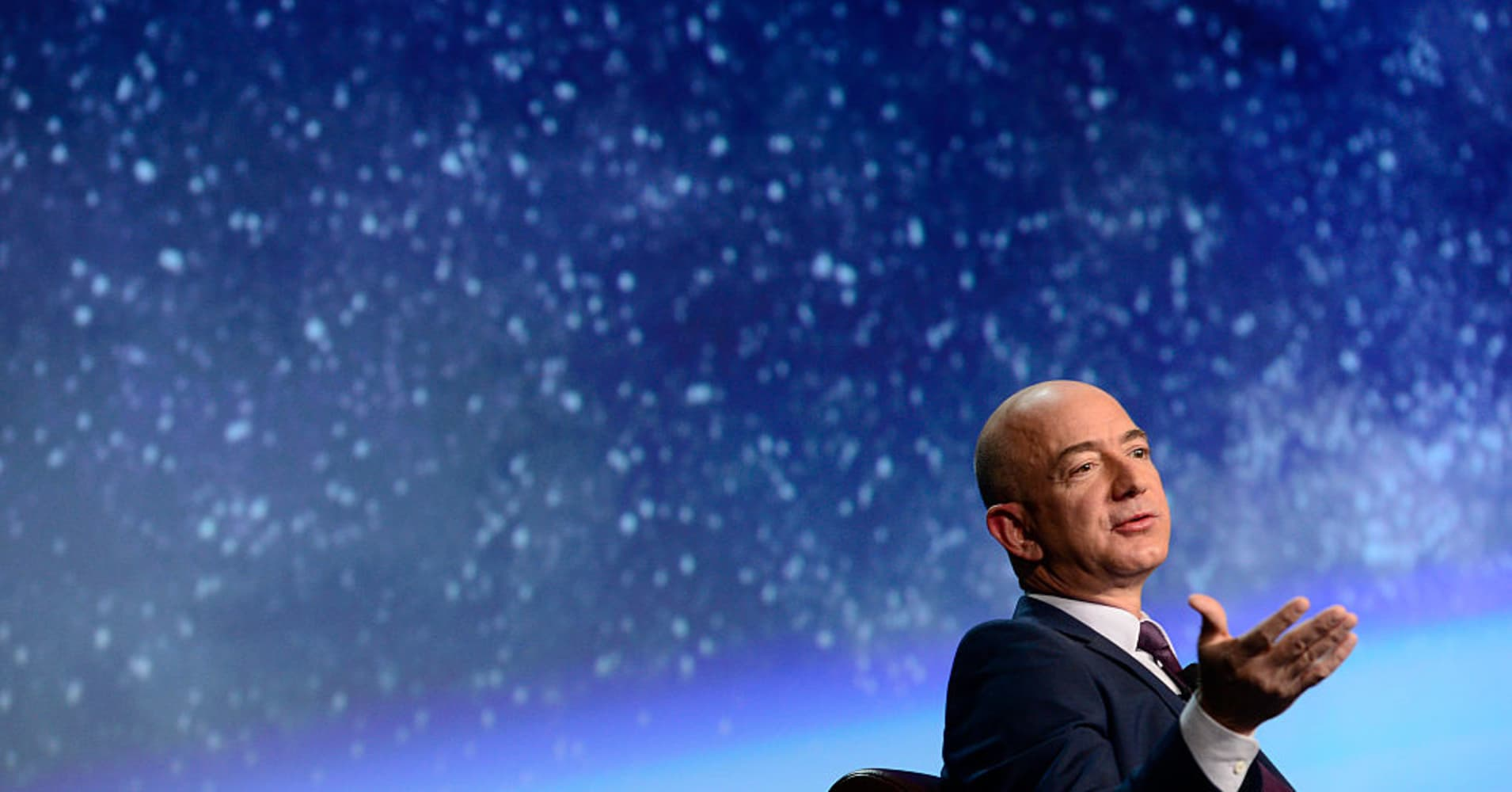Amazon's Jeff Bezos: Why Blue Origin is most important ...
