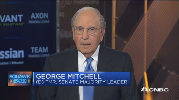 Sen. George Mitchell: China can't solve US problem with North Korea