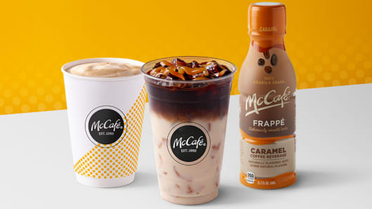 McDonald's to bring bottled McCafe drinks to store shelves