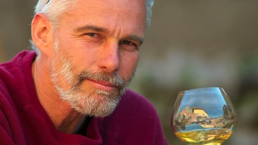 Meet the man making wine on the edge of Europe's largest active volcano (CNBC)
