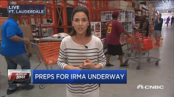 Generators hot item as Florida preps for Irma