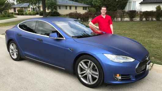 Brian Rose, Turo member who rents out his Tesla Model S on Turo.