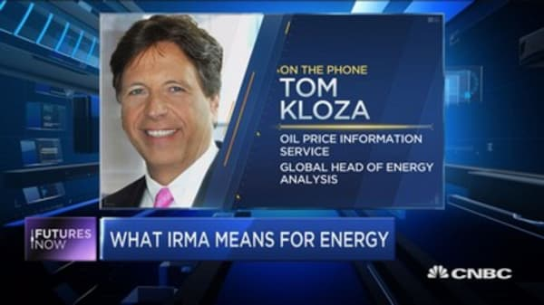 Here's how energy commodities could react to Irma: Kloza