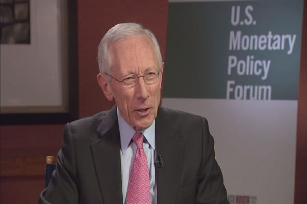 Vice Chair Stanley Fischer stepping down from Fed, citing 'personal reasons'