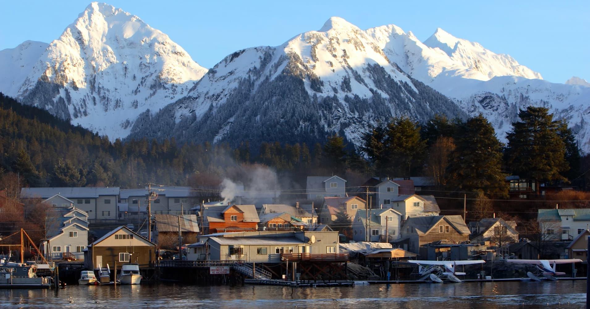 Sitka, Alaska.