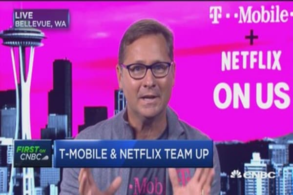 T-Mobile will offer free Netflix on certain plans