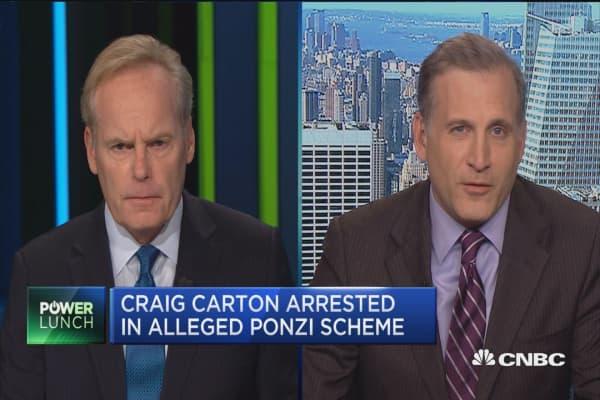 Craig Carton arrested in alleged ponzi scheme